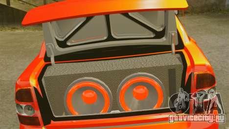 Lada Priora Cuba для GTA 4 вид сбоку