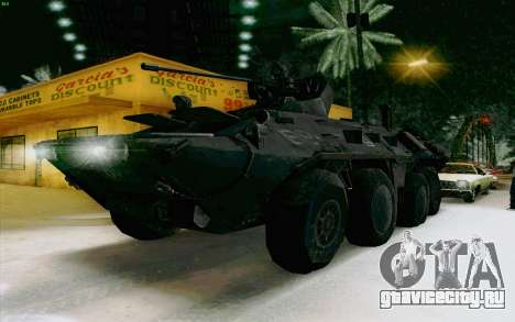 БТР 80 для GTA San Andreas вид справа