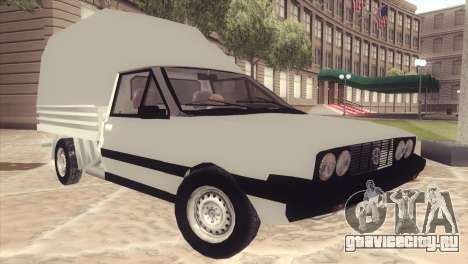 FSO Polonez Mr89 Truck для GTA San Andreas