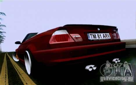BMW M3 Cabrio для GTA San Andreas вид слева