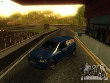 Opel Astra G Caravan Tuning для GTA San Andreas вид сзади слева