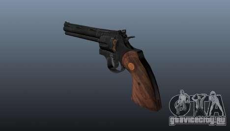 Револьвер Colt Python 357 для GTA 4 второй скриншот