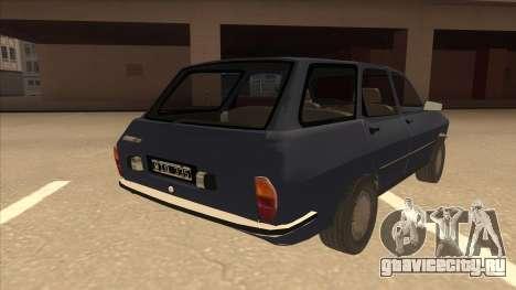 Renault 12 Break для GTA San Andreas вид справа