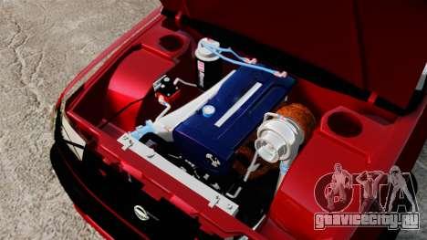 Nissan Frontier D22 для GTA 4 вид изнутри