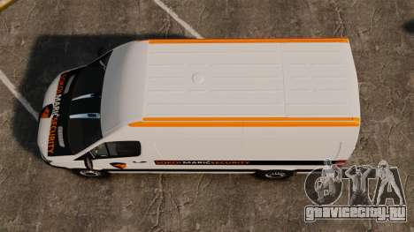 Mercedes-Benz Sprinter Sokol Maric Security для GTA 4 вид справа