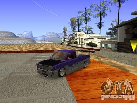 Ваз 2102 Fun DRFT для GTA San Andreas вид слева