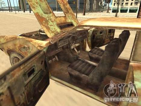 Ford Torino Rusty для GTA San Andreas вид снизу