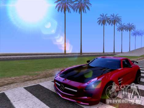 Mercedes-Benz SLS AMG GT 2014 Final Edition для GTA San Andreas вид сбоку
