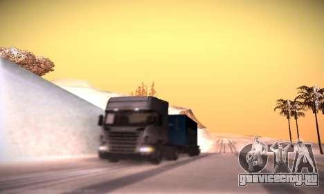 Scania R500 Topline для GTA San Andreas вид снизу
