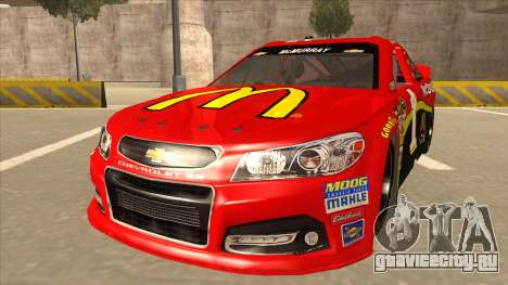 Chevrolet SS NASCAR No. 1 McDonalds для GTA San Andreas