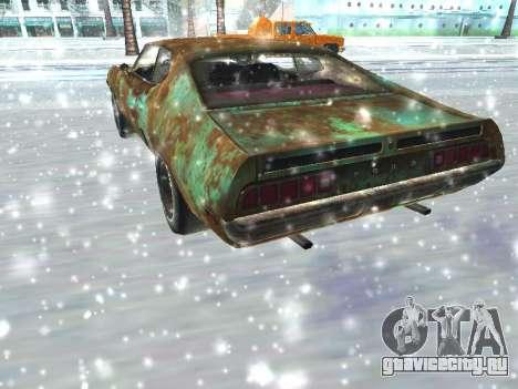Ford Torino Rusty для GTA San Andreas вид справа