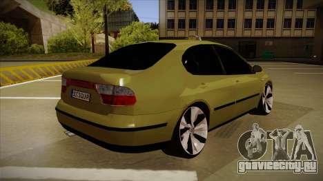 Seat Toledo German Style для GTA San Andreas вид справа