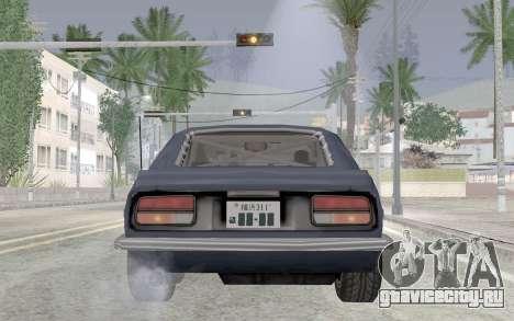 Nissan Fairlady Z AKUMA для GTA San Andreas вид сзади