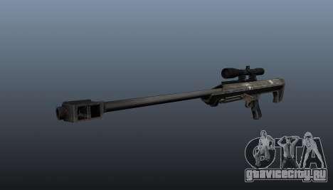 Снайперская винтовка Barrett M99 для GTA 4