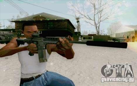 М4А1 для GTA San Andreas
