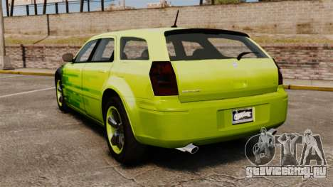 Dodge Magnum West Coast Customs для GTA 4 вид сзади слева