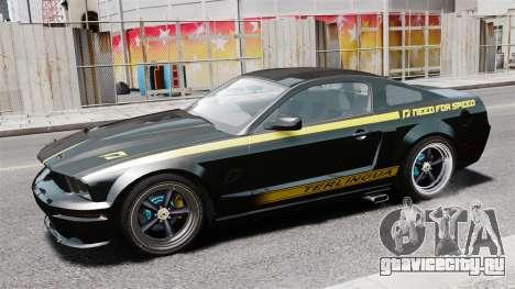 Shelby Terlingua Mustang для GTA 4 вид слева