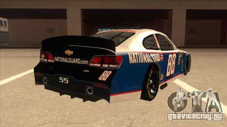 Chevrolet SS NASCAR No. 88 National Guard для GTA San Andreas вид справа