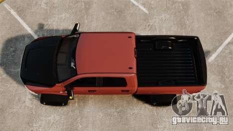 Dodge Ram 2500 Lifted Edition 2011 для GTA 4 вид справа