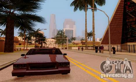 ENBSeries for low and medium PC для GTA San Andreas десятый скриншот