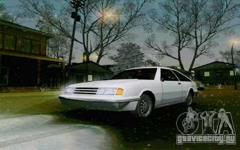 Manana Hatchback для GTA San Andreas вид слева