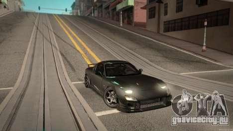 Mazda RX-7 STANCENATION для GTA San Andreas