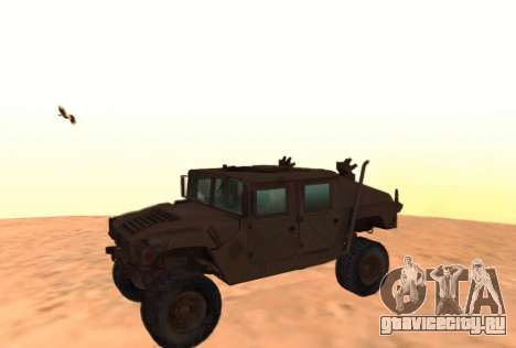 Hummer H1 из игры Resident Evil 5 для GTA San Andreas вид слева