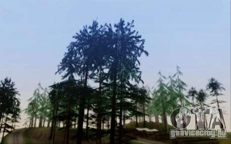 Новая растительность 2013 для GTA San Andreas