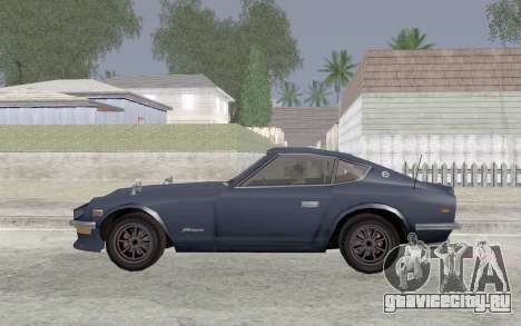 Nissan Fairlady Z AKUMA для GTA San Andreas вид слева