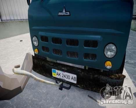 МАЗ КС3577-0-1 Черниговец для GTA 4 вид справа