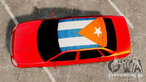 Lada Priora Cuba для GTA 4 вид справа