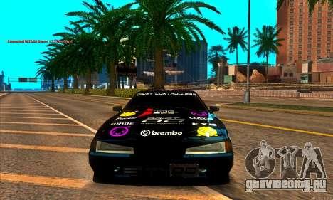 Elegy DC v1 для GTA San Andreas вид справа