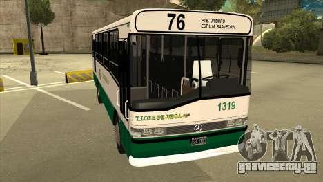 Mercedes-Benz OHL-1320 Linea 76 для GTA San Andreas вид слева