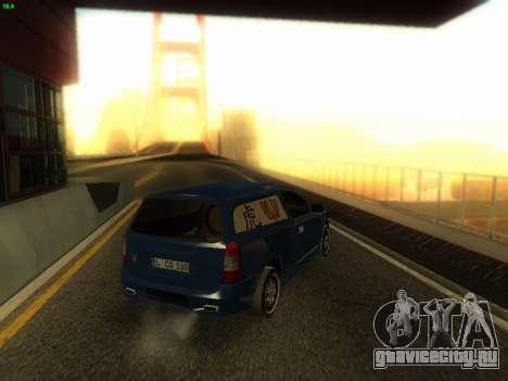 Opel Astra G Caravan Tuning для GTA San Andreas вид слева