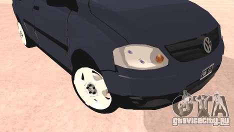 Volkswagen Suran для GTA San Andreas вид справа