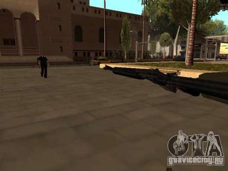 WeaponStyles для GTA San Andreas шестой скриншот