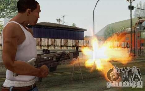 Военный пулемет для GTA San Andreas третий скриншот