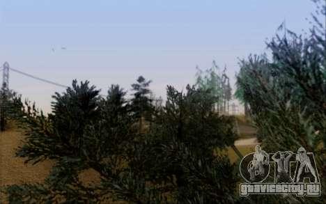 Новая растительность 2013 для GTA San Andreas восьмой скриншот