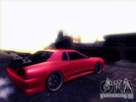 Elegy Drift Concept для GTA San Andreas вид справа