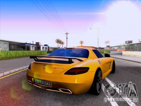 Mercedes-Benz SLS AMG GT 2014 Final Edition для GTA San Andreas вид справа