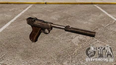 Пистолет Parabellum v2 для GTA 4
