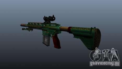 Автоматическая винтовка HK417 v3 для GTA 4 второй скриншот