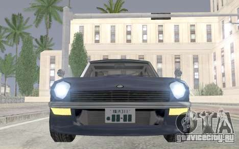 Nissan Fairlady Z AKUMA для GTA San Andreas вид справа