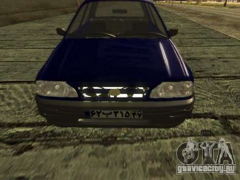 Kia Pride Hatchback для GTA San Andreas вид справа