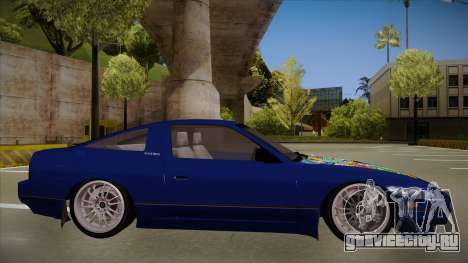 Nissan 240sx JDM style для GTA San Andreas вид сзади слева