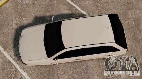 Volkswagen Gol G4 BBS для GTA 4 вид справа