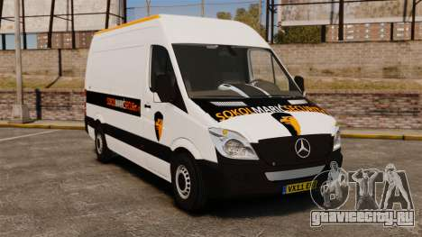 Mercedes-Benz Sprinter Sokol Maric Security для GTA 4