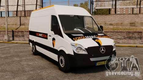 Mercedes-Benz Sprinter Sokol Maric Security для GTA 4