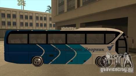 Neoplan Tourliner - Drinatrans Zvornik для GTA San Andreas вид сзади слева