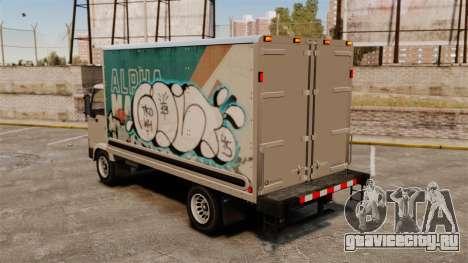 Новые граффити для Mule для GTA 4 вид справа